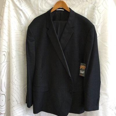 BNWT Johnny Bigg Men's Jacket And Pant Suit Set Black