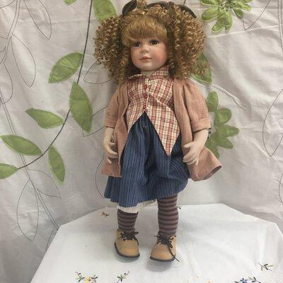 Farrington Porcelain Doll-Collectable