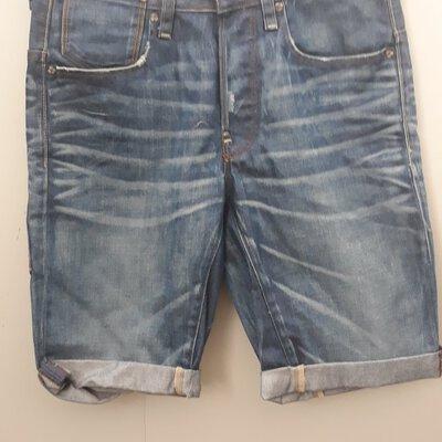 New G-Star denim shorts size 28