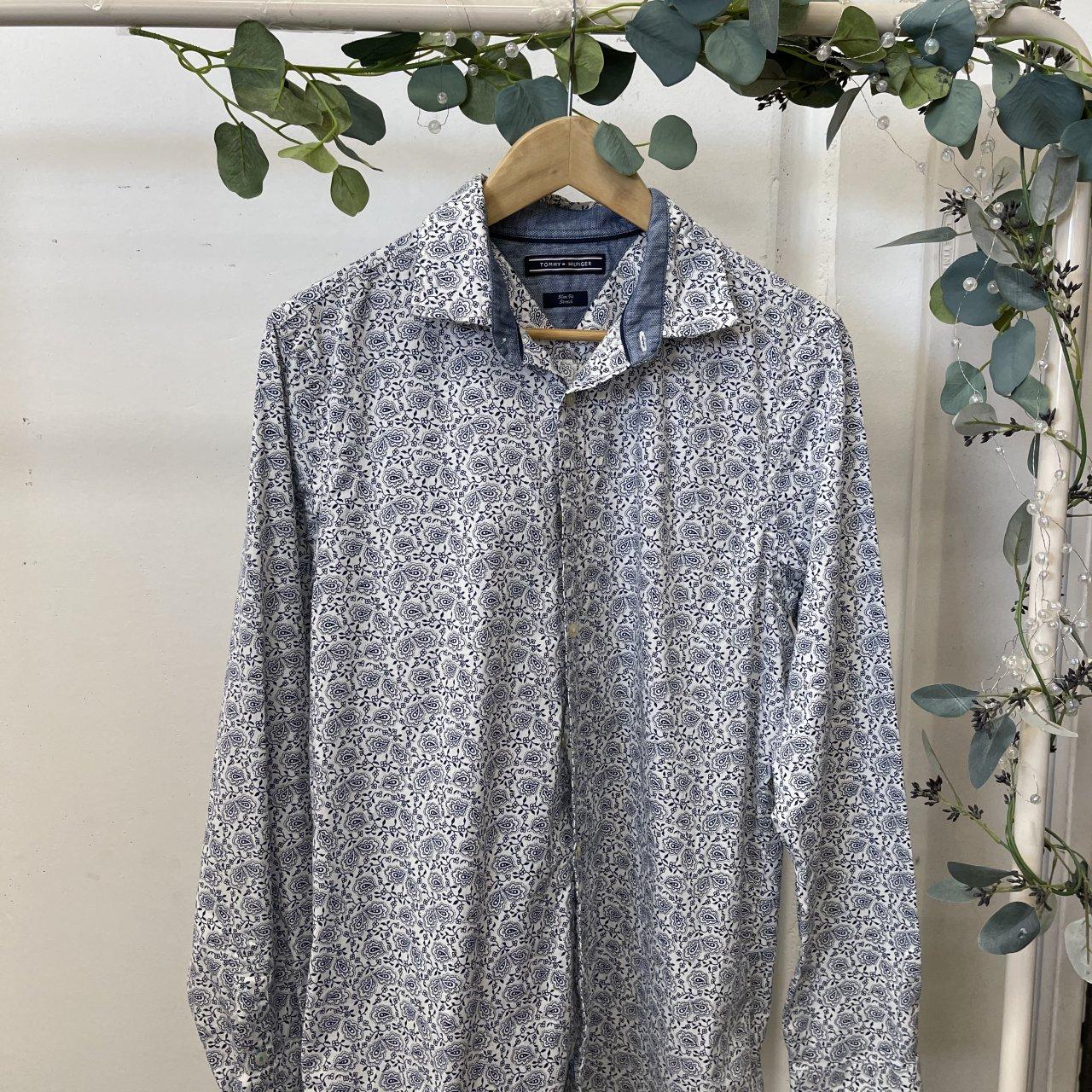 Tommy Hilfiger Men's Button Up Shirt Size S