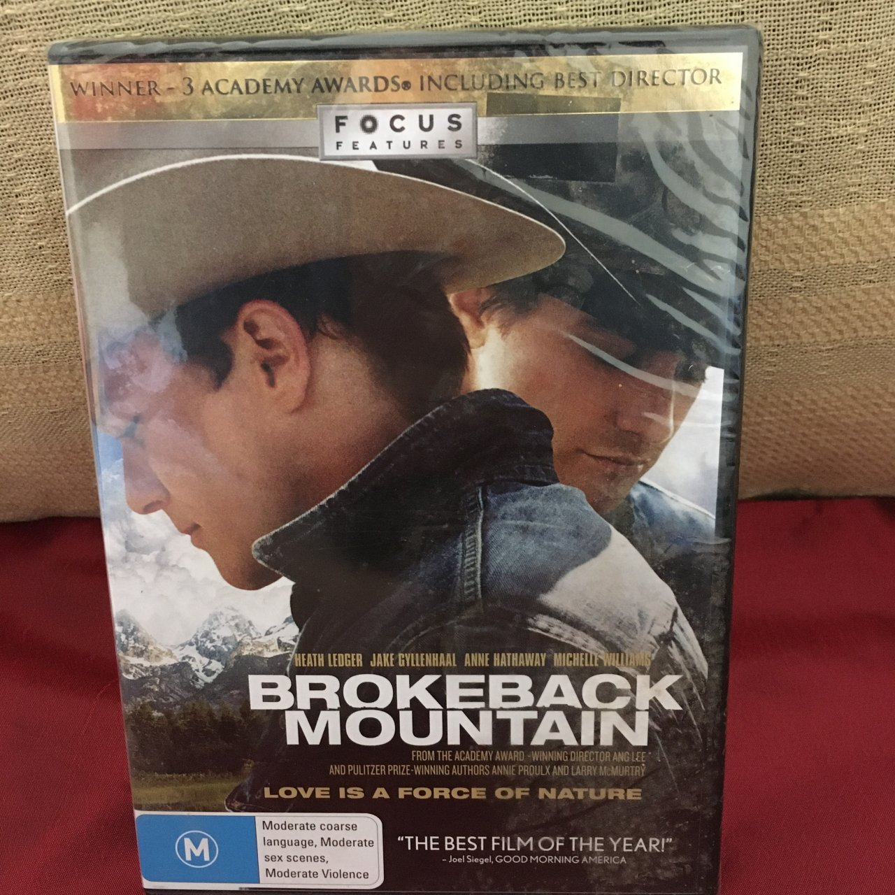 Brokeback Mountain DVD, Brand New