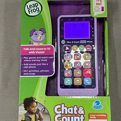 Leap Frog Kids Chat & Count Smart Phone Toy