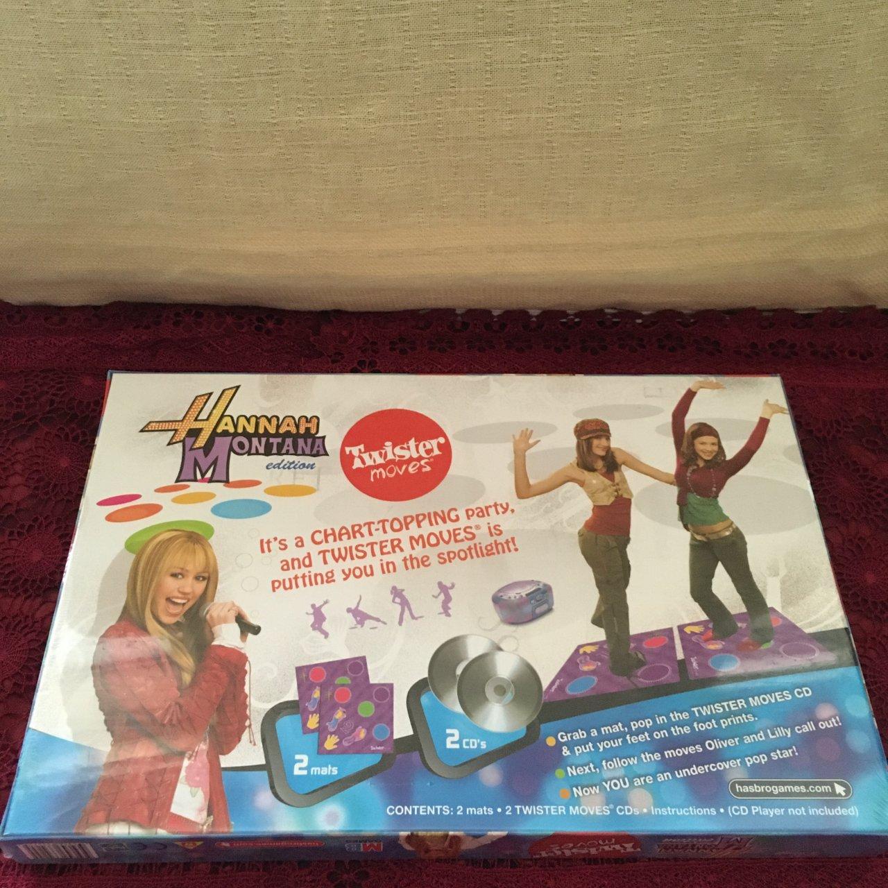 Disney Hannah Montana Edition Twister Moves, Age 8+, Brand New
