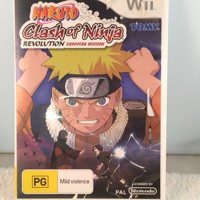 NINTENDO WII game  - Clash of Ninja