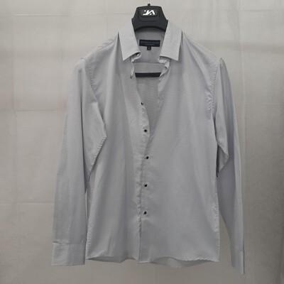 Jonathon Adams 3 piece suit set, white shirt size S, grey blazer size 96REG, black slim fit pants size 32 (82/32R)