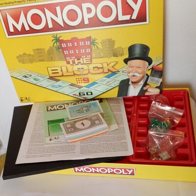 MONOPOLY The Block Limited Edition