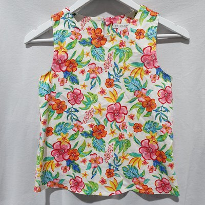 Primark, Girl's Floral Top, 11-12 yrs old, Multicoloured