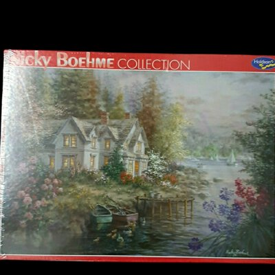 ***SLASHED TO $5***Was $10.00 HOLDSON Nicky Boehme Collection 1000 Piece Jigsaw Puzzle