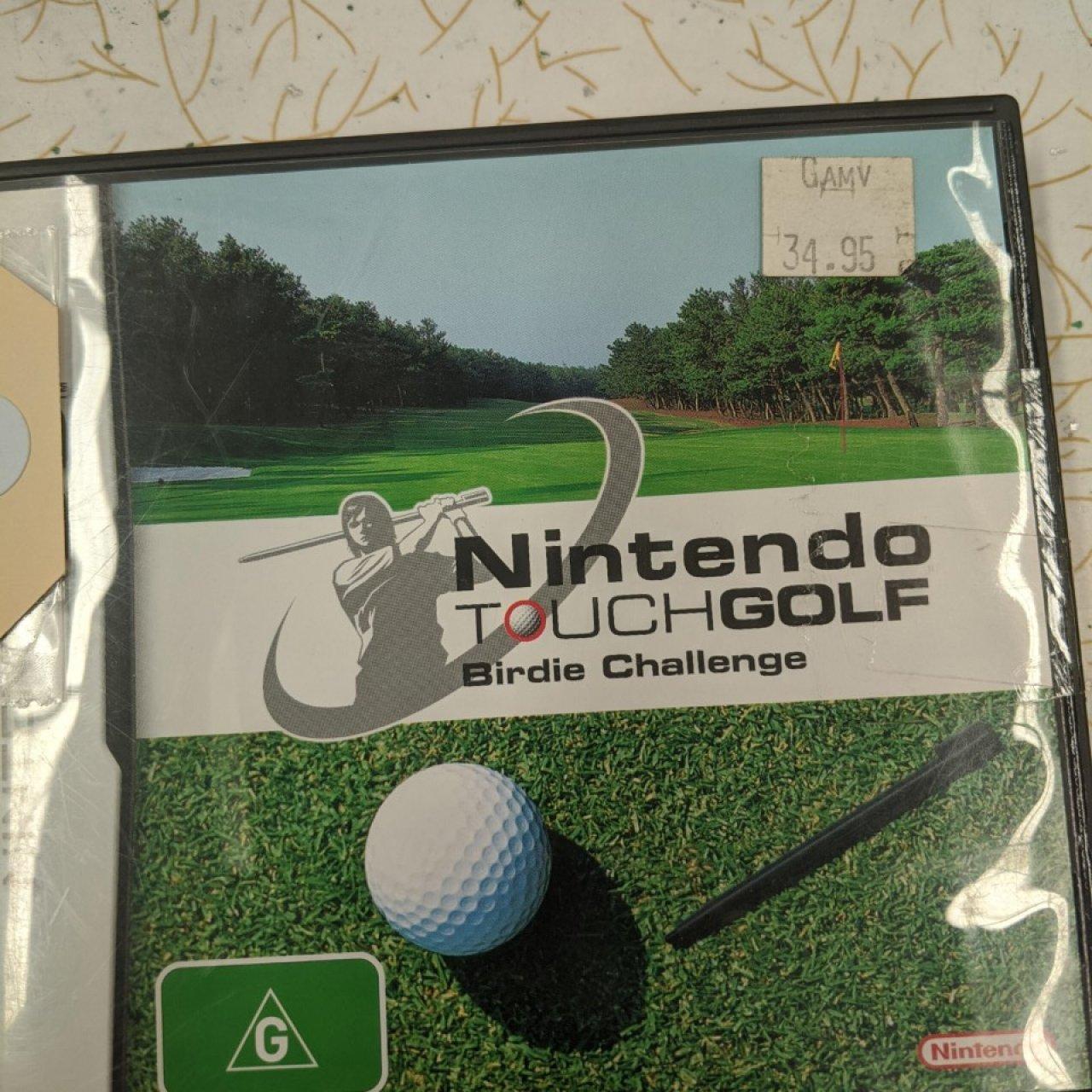 NINTENDO DS  - Touch Golf Birdie Challenge