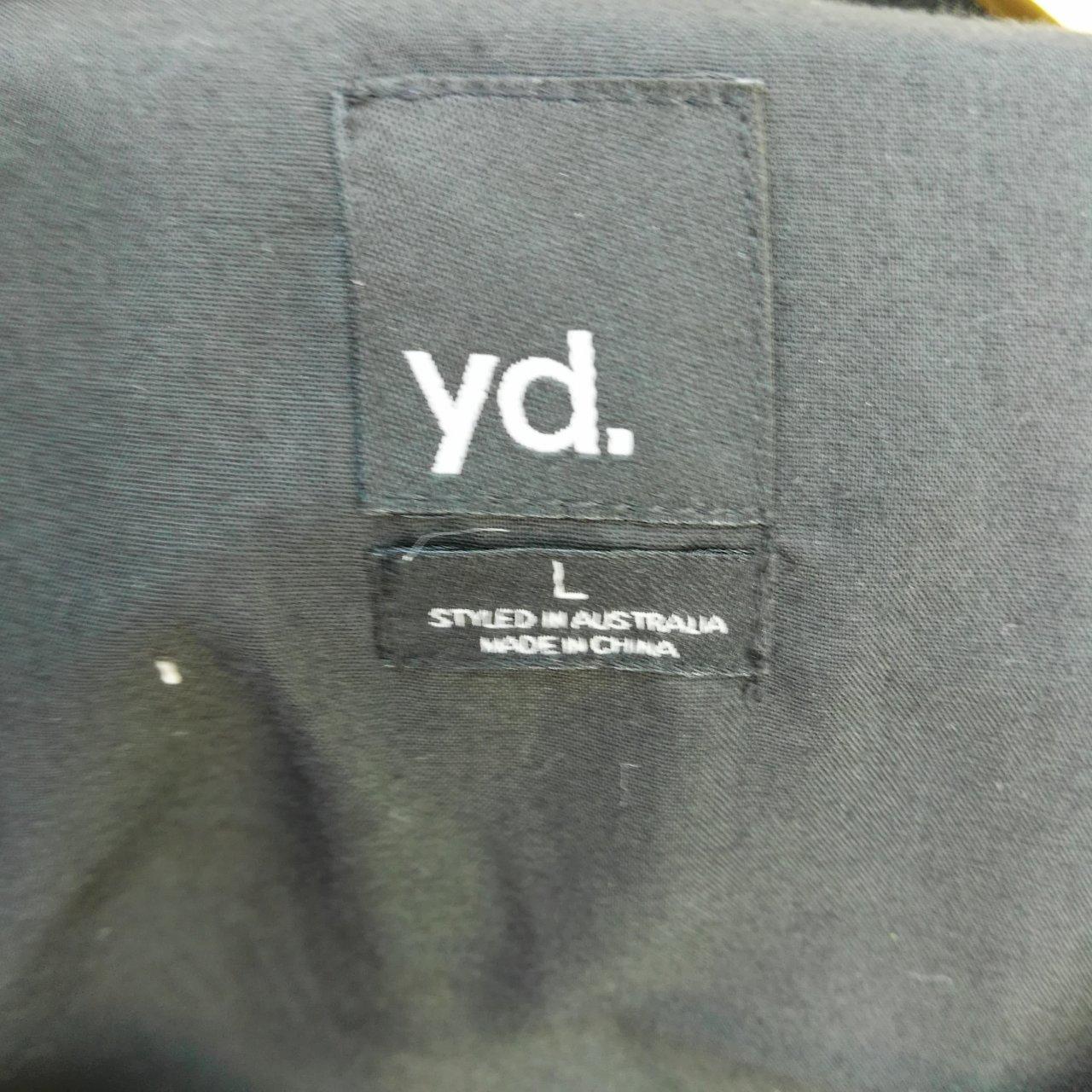 Yd  Mens Hooded Vest Waistcoat Black- size L