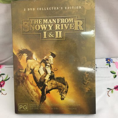 The Man From Snowy River, I & II, 2 DVD Collector's Edition, Brand New