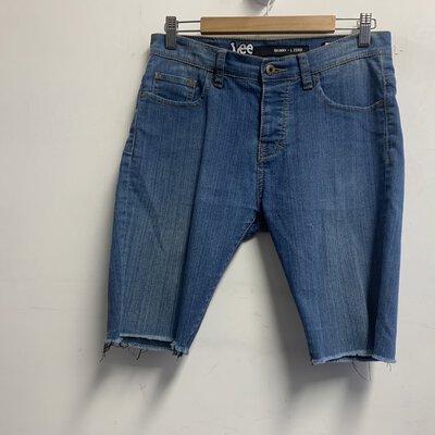 Lee Men's Denim Shorts Size 30 Blue