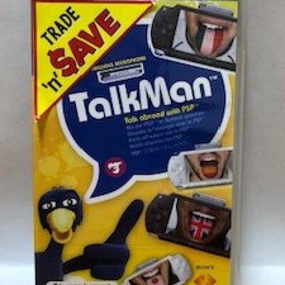 Sony - PSP - TalkMan with Microphone - CIB