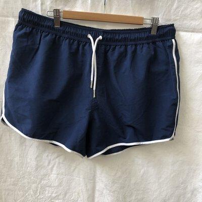 "ASOS Men's Shorts Navy Blue To Fit Waist 38"""