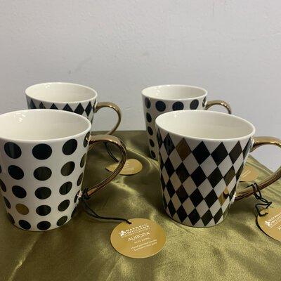 Maxwell & Williams Aurora Mug Set Black (BNWT)