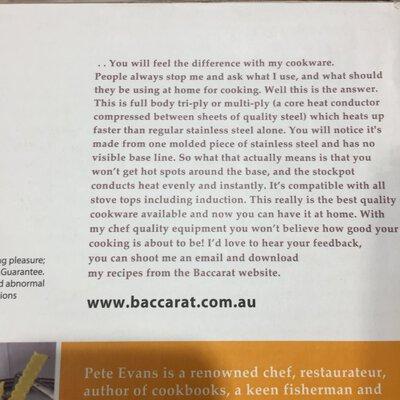 Brand New - Baccarat 24cm Stockpot