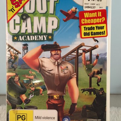 NINTENDO WII game  - Boot Camp