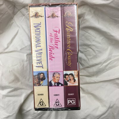 VHS Videos: The Elizabeth Taylor Collection