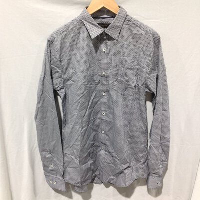 BNWT Men's Country Road Shirt, Size S, Navy, RRP $99.95