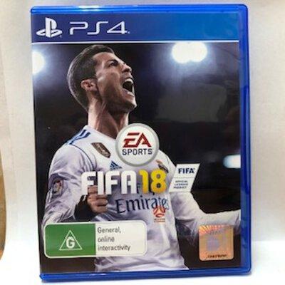 PS4 - EA Sports - FIFA 18 - Game