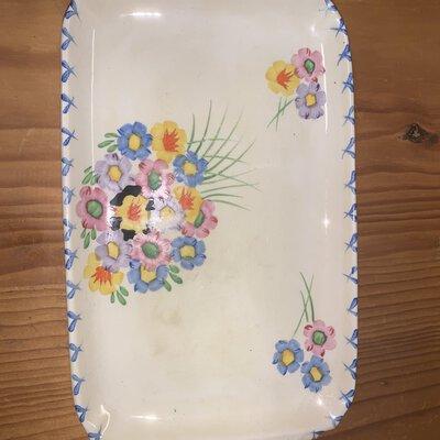 Coronet ware, burslem, trade mark, made in England
